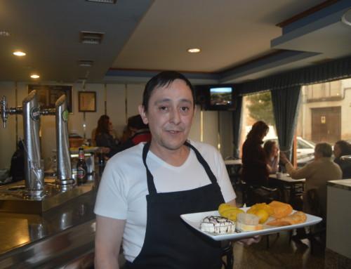 """Bar El Cáctus, Ólvega: """"Soria es la despensa ideal, tiene de todo""""."""