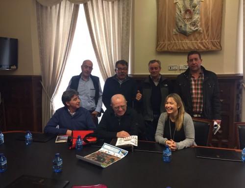Vuelta al Moncayo- Calcenada. Reunión de Ayuntamientos en la Diputación Provincial de Soria.